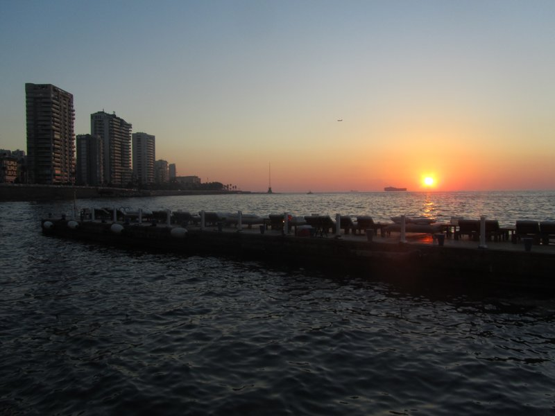 Sunset in Beirut