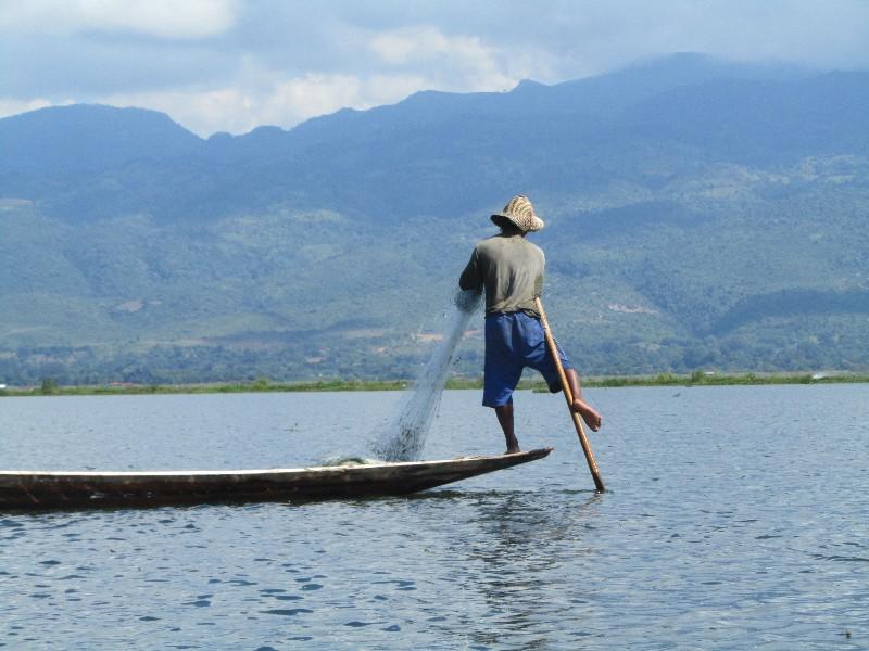 Travelling around Inle Lake
