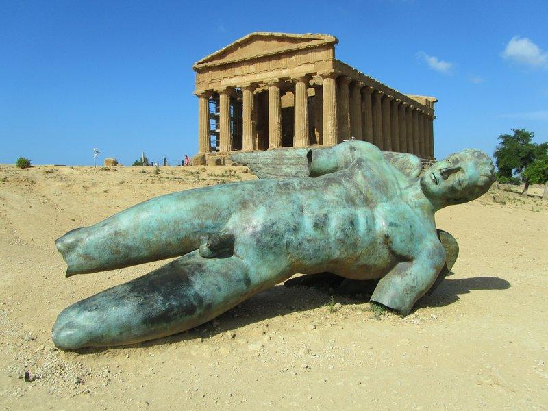 Agrigento ruins, Sicily