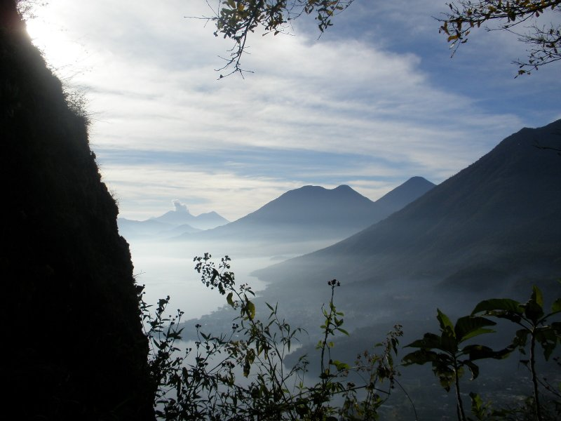 Walk from Xela to Lake Atitlan