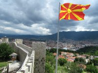 Castle in Ohrid, Macedonia