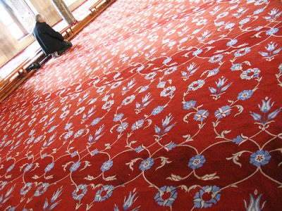 Prayer at the Blue Mosque