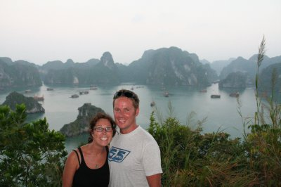 Viewpoint at Ha Long Bay