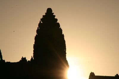 The Sun Has Risen Over Angkor Wat