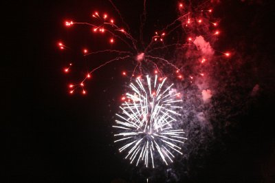 Firework finale