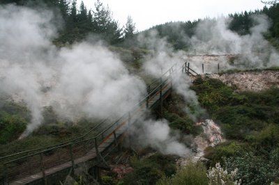 Geothermal walk