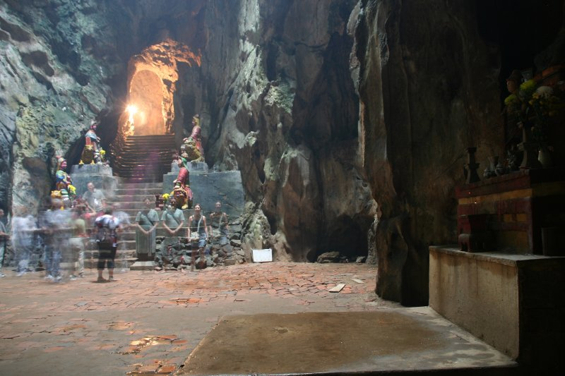 Marble Mountain, temple cave