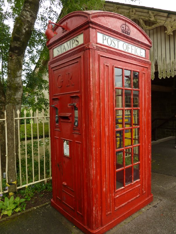 Old postage/telephone box