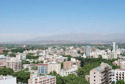 Mendoza Aerial View