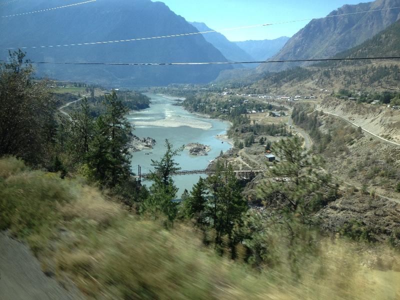 Between Cache Creek and Lillooet
