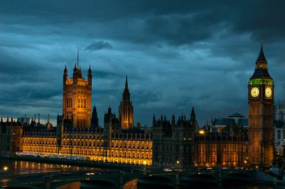 Westminster at Nightfall