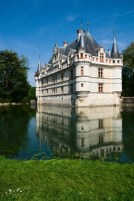 Azay-Rideau, Chateau, Loire Valley, France