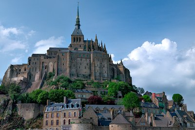 Mt. St. Michel, Brittany, France