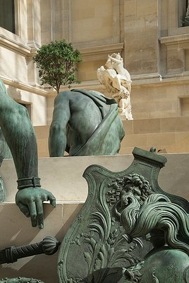Statuary at Museum d'Orsay