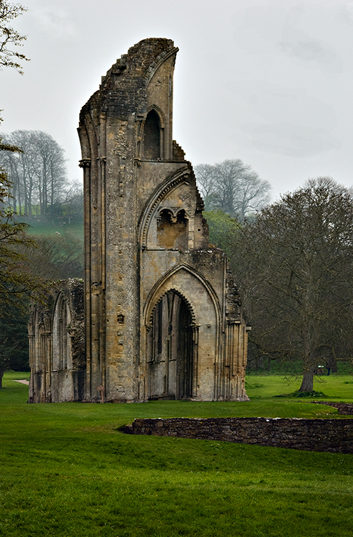 A Remainder of the Glastonbury Abbey