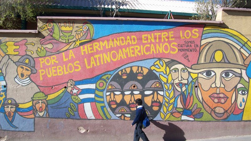 Potosi street mural