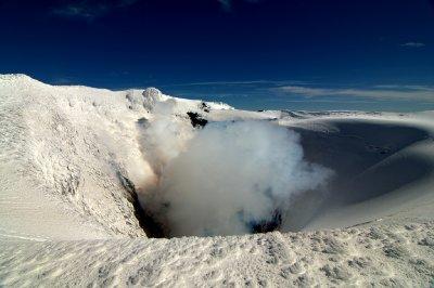 Volcán Villarrica Crater