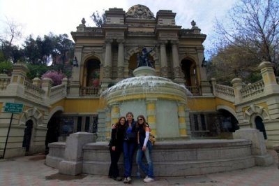 Fountain @ Cerro Santa Lucia