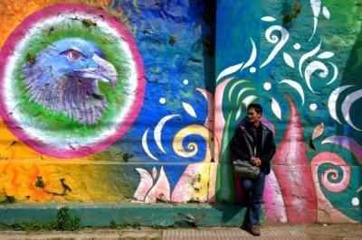 Valparaiso Street Art - Me