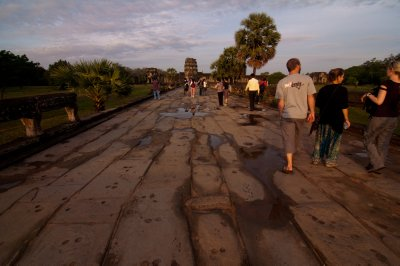 Path to Angkor Wat