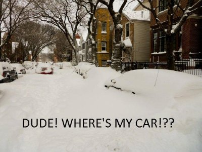 Dude, where's my car??