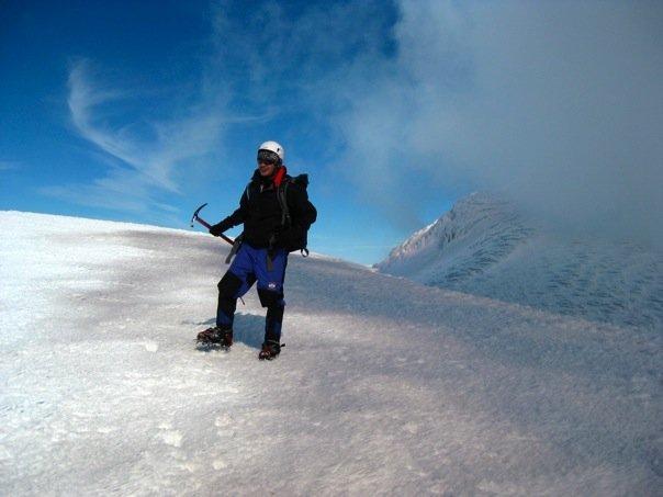 Top of Mt Villarrica