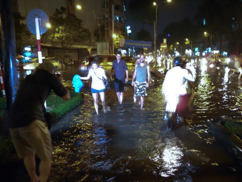 Flooded Streets of HCMC