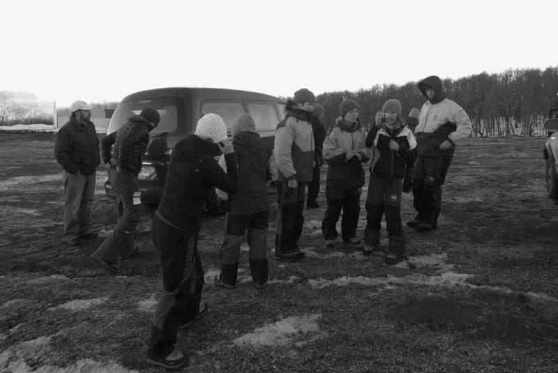Gear Check at Volcán Villarrica Base Camp