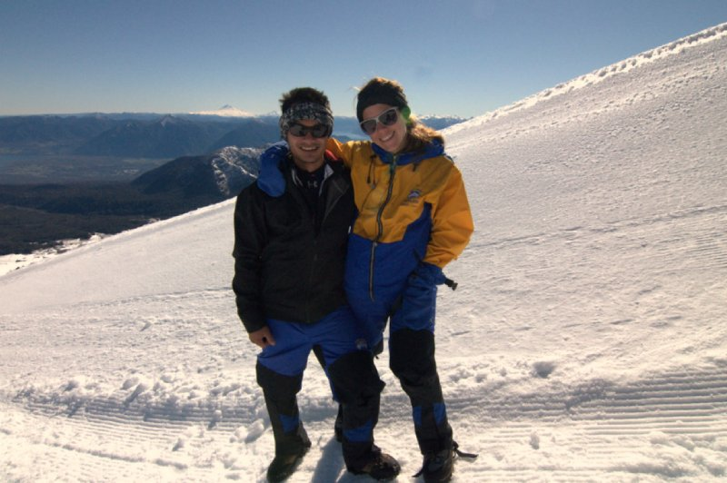 Volcán Villarrica - Sam and I