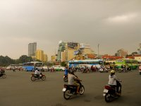 HCMC round-about of death
