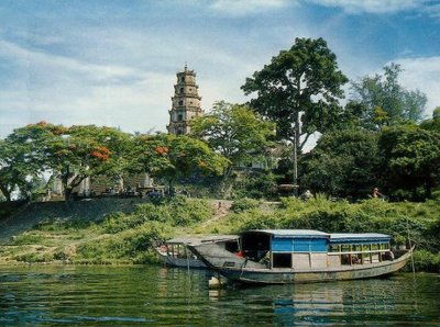 Traditional Pagoda in Hue - Vietnam