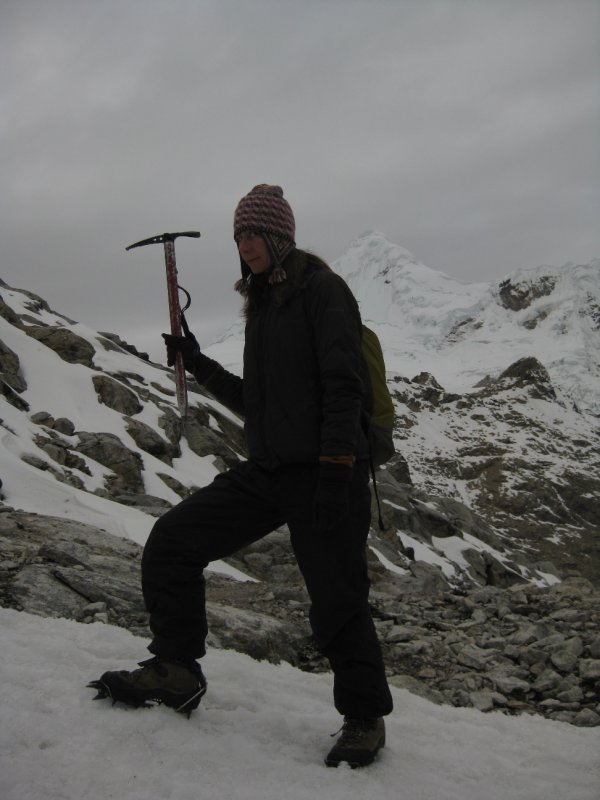 First time with Ice Axe