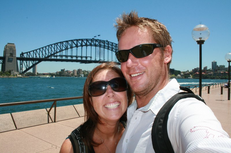At the harbour bridge