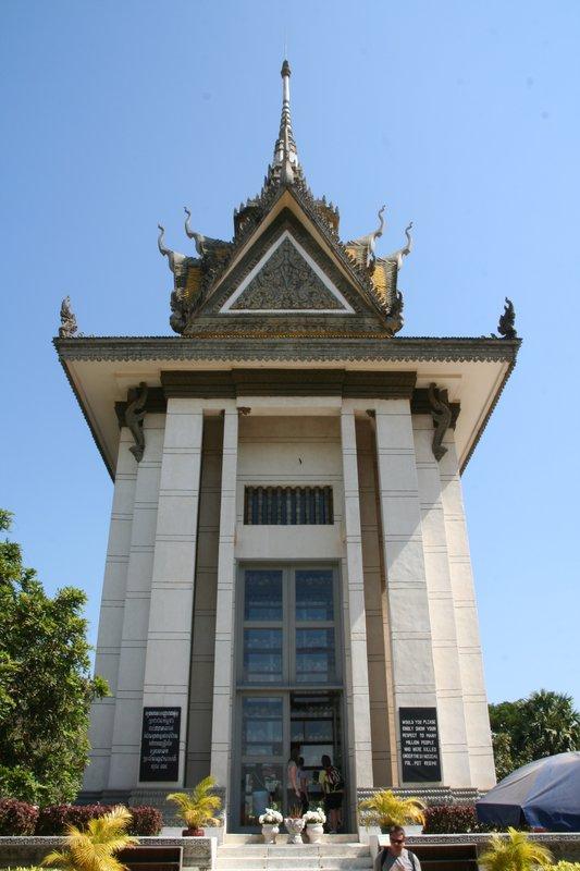 Stupa in Choeung Ek