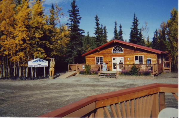 Jim Colyer at Denali River Cabins