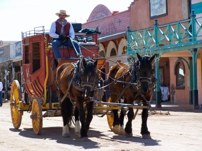 Tombstone Stagecoach