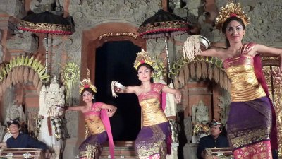 Traditional Bali dance