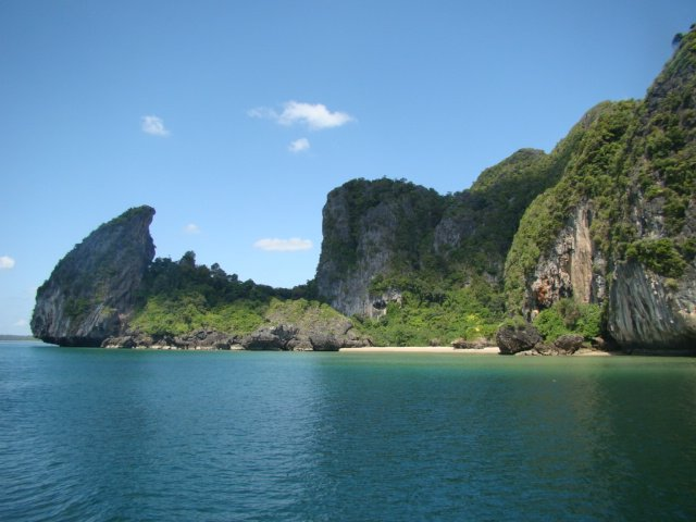 One of Thailands untouched beaches