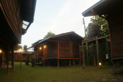 Our jungle hut in Sepilok