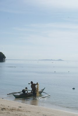 Boat trip - Day 3 - seaweed fishermen