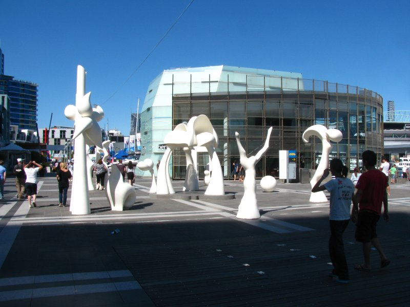 Statues at the Boat festival