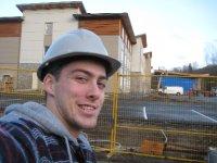 Labor a Squamish sur un site de construction