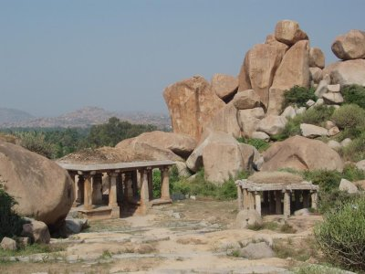 Temples in the boulders