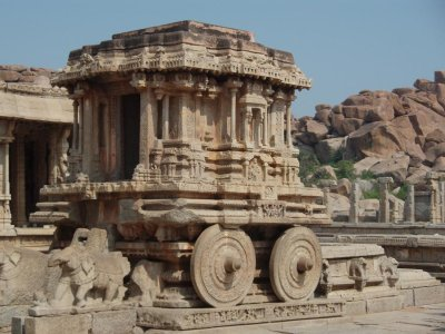 Stone chariot at Vitala Temple