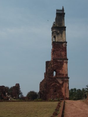 St Augustine Monastery in Old Goa