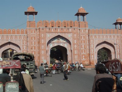 Jaipur city gate