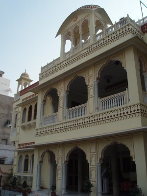Krishna Palace - our guesthouse