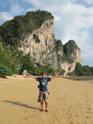 Playa de Railay, parte hippy