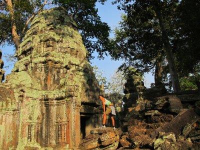 Entre ruinas y jungla, Angkor Thom