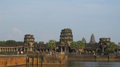 Entrada principal de Angkor Wat